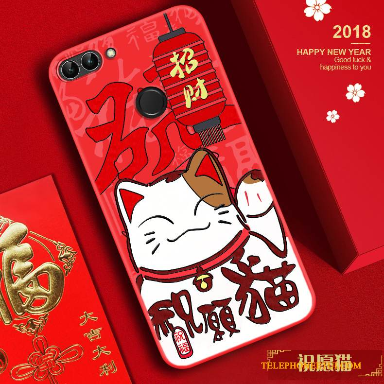 coque huawei p smart 2018 chat