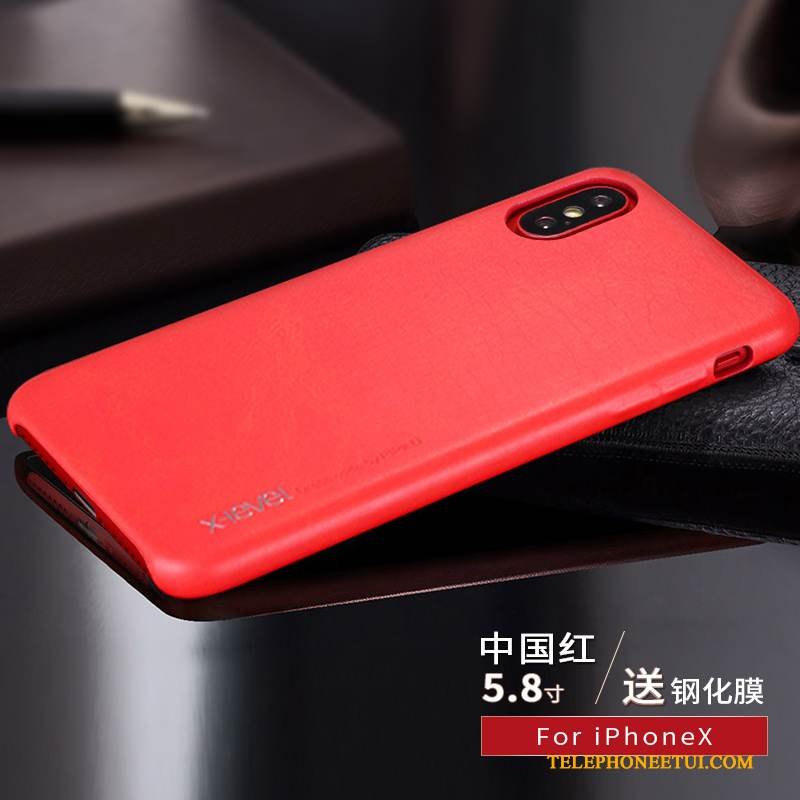 coque iphone x mince
