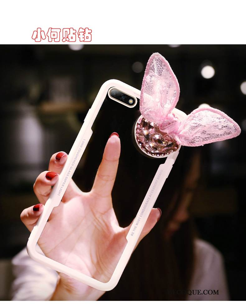 coque huawei y6 2018 strass