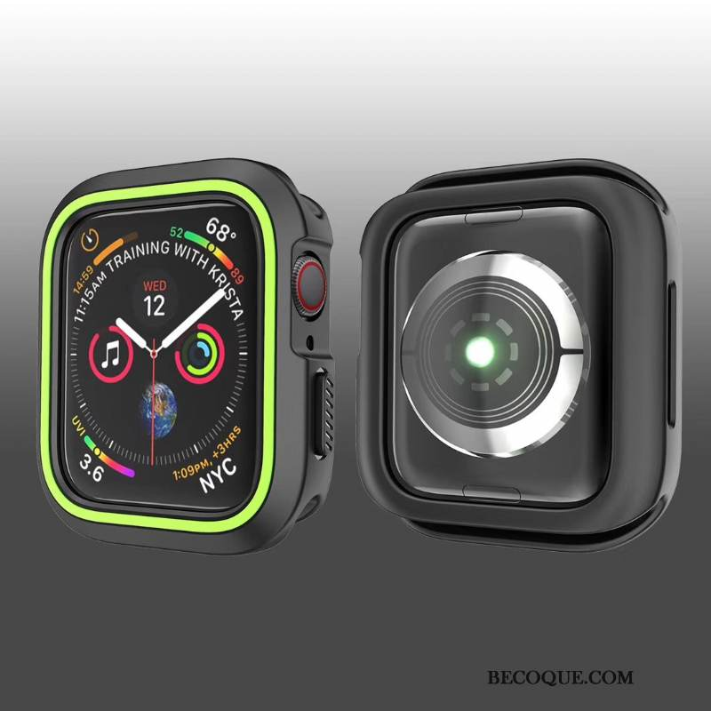 Coque Apple Watch Series 1 Créatif Noir, Étui Apple Watch Series 1 Sacs