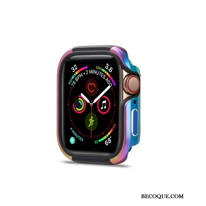 Coque Apple Watch Series 1 Métal Tendance Pu, Étui Apple Watch Series 1 Protection Alliage Nouveau