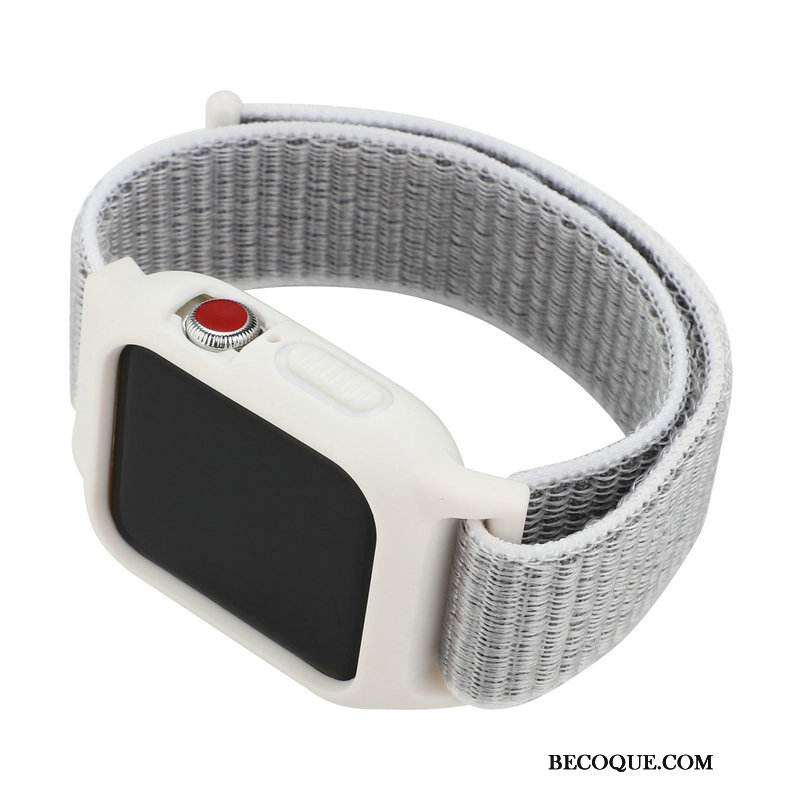 Coque Apple Watch Series 1 Protection Blanc Nylon, Étui Apple Watch Series 1