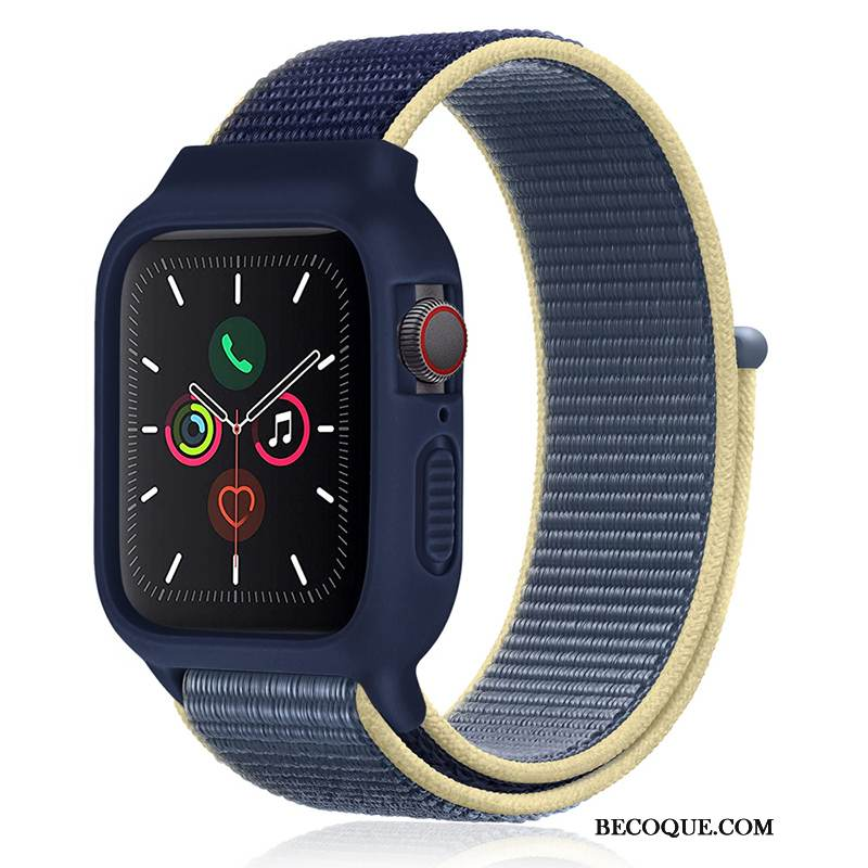 Coque Apple Watch Series 1 Silicone Bleu Sport, Étui Apple Watch Series 1 Nouveau Tendance
