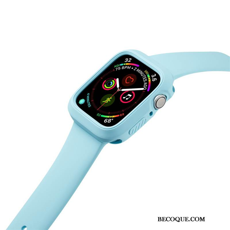 Coque Apple Watch Series 1 Silicone Incassable Sport, Étui Apple Watch Series 1