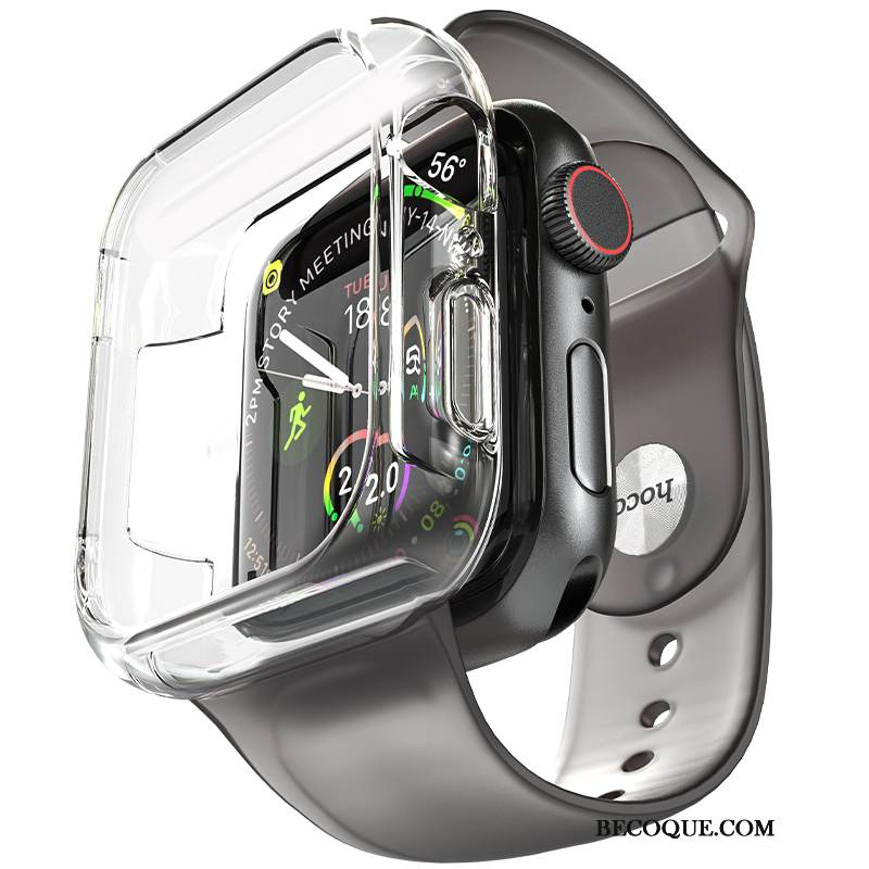 Coque Apple Watch Series 1 Silicone Placage Tendance, Étui Apple Watch Series 1 Sacs Gris Accessoires