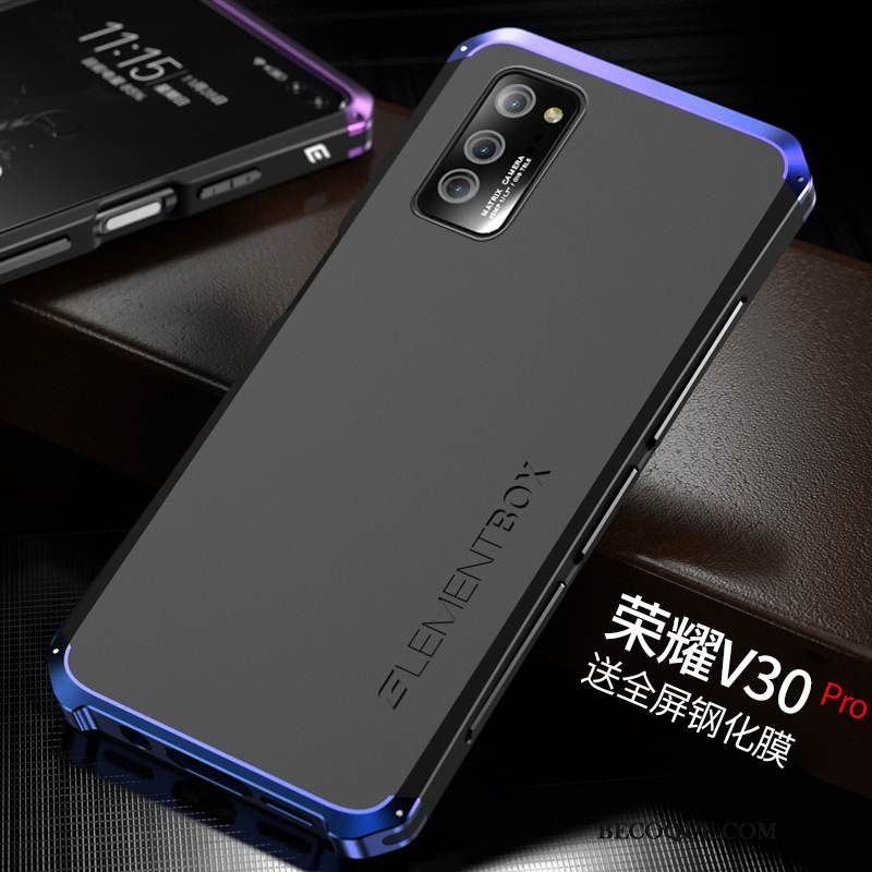 Coque Honor View30 Pro Sacs Border Incassable, Étui Honor View30 Pro Silicone Nouveau Difficile