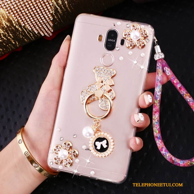 Coque Huawei Mate 10 Pro Strass Orde Téléphone, Étui Huawei Mate 10 Pro Silicone