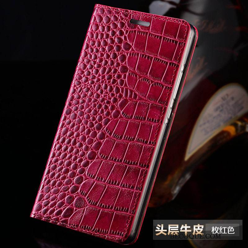 Coque Huawei Mate 20 X Protection Simple Rouge, Étui Huawei Mate 20 X Housse Business Nouveau