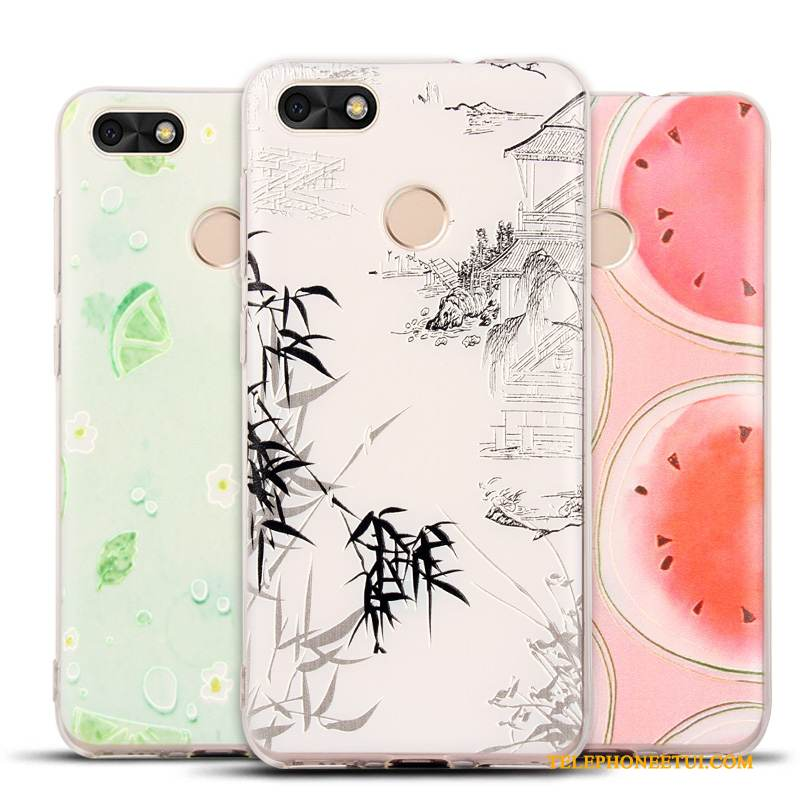 coque silicone huawei y6 pro 2017