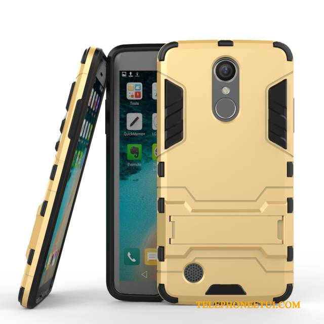 Coque Lg K8 2017 Support Incassablede Téléphone, Étui Lg K8 2017 Protection Or Business