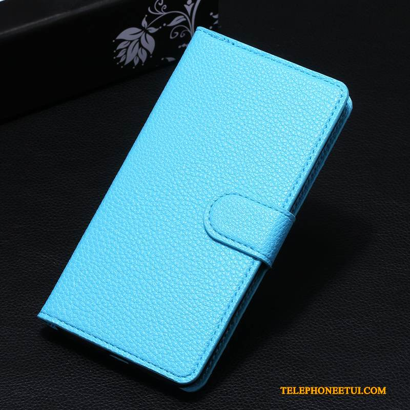 Coque Mi Mix 2 Protection Difficile Délavé En Daim, Étui Mi Mix 2 Sacs Bleu Incassable