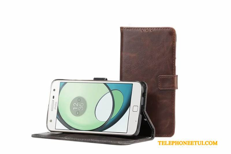 Coque Moto Z Play Protection , Étui Moto Z Play Fluide Doux