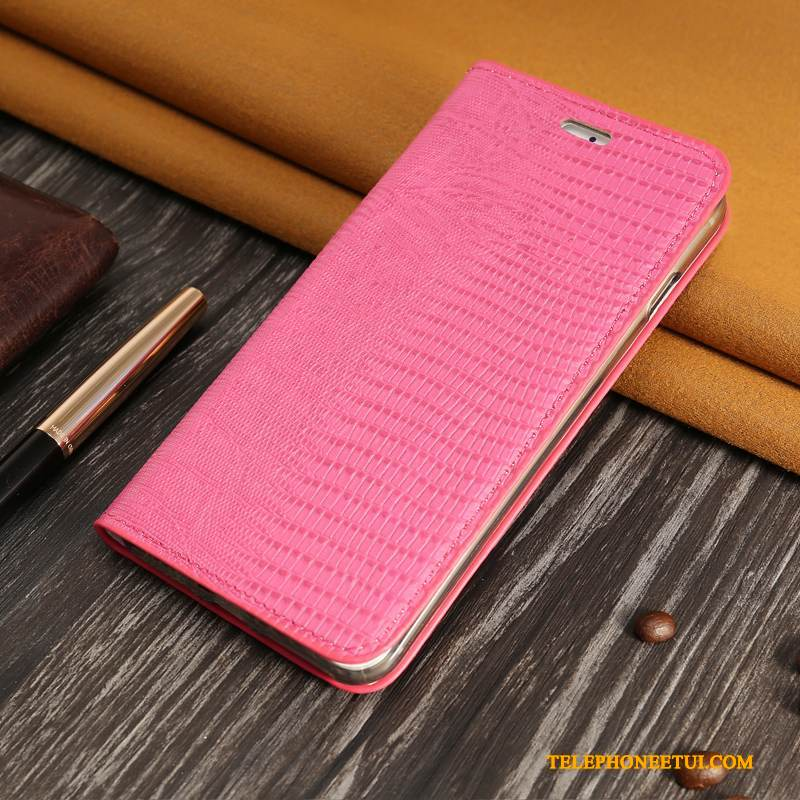Coque Redmi Note 5 Pro Cuir Business Carte, Étui Redmi Note 5 Pro Protection Difficile Rouge