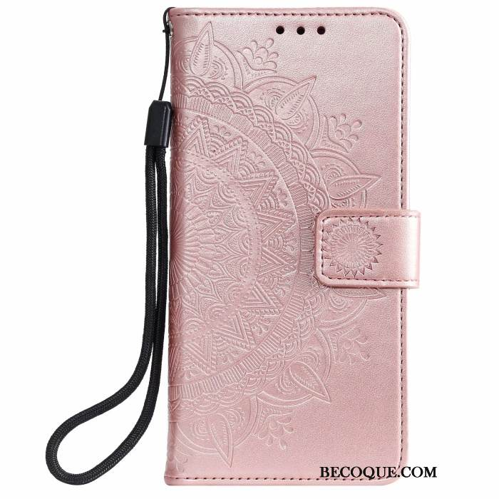 Coque Samsung Galaxy Note20 Ultra Housse Rosede Téléphone, Étui Samsung Galaxy Note20 Ultra Cuir Carte