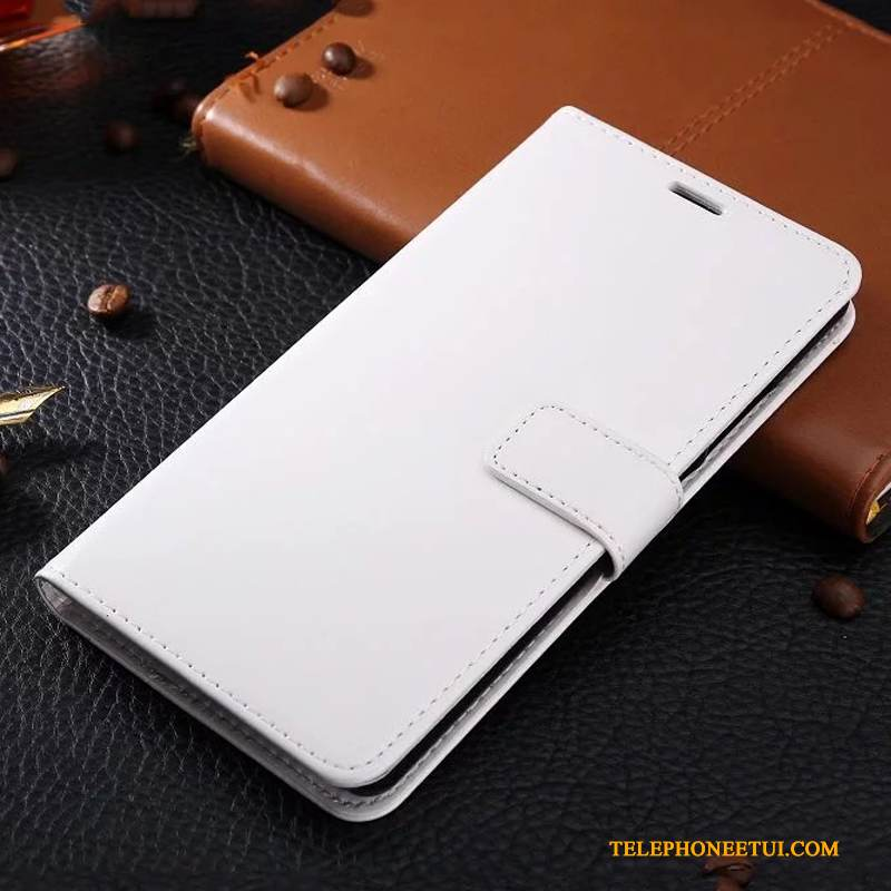 Coque Samsung Galaxy S6 Edge + Cuir Business Blanc, Étui Samsung Galaxy S6 Edge + Housse De Téléphone Ornements Suspendus