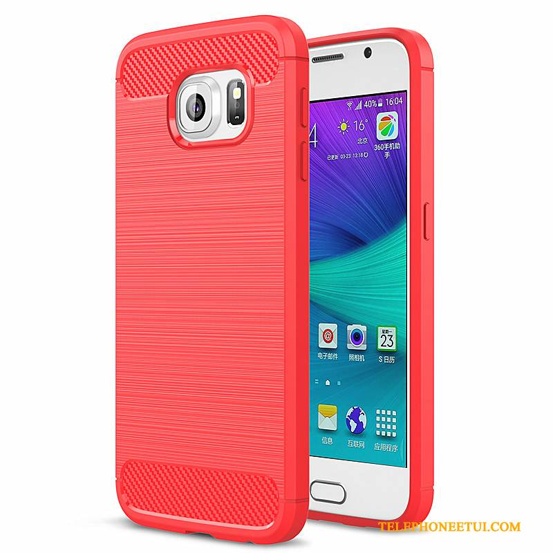coque protectrice silicone galaxy s6