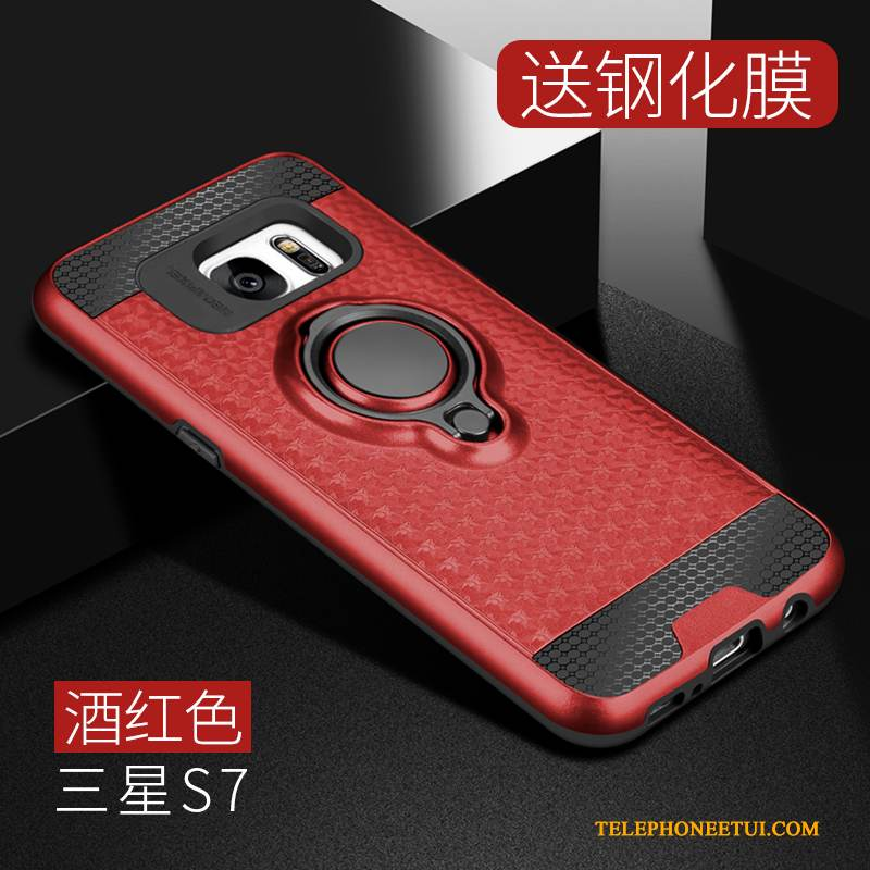 coque galaxy s7 support