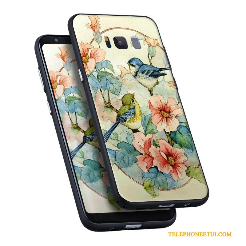 Coque Samsung Galaxy S8 Silicone Simple Ornements Suspendus, Étui Samsung Galaxy S8 Multicolore Incassablede Téléphone