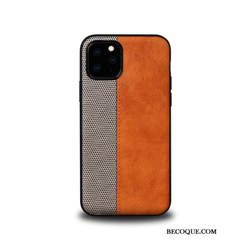 Coque iPhone 11 Pro Cuir Business Incassable, Étui iPhone 11 Pro Protection Nouveau Luxe