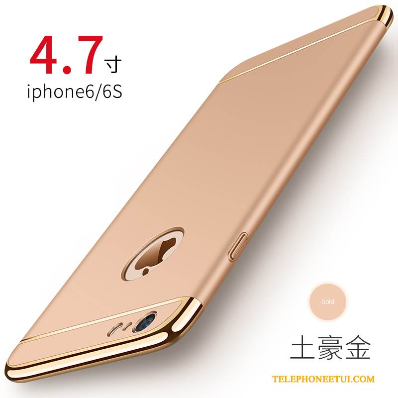 Coque iPhone 6/6s Pu Difficile, Étui iPhone 6/6s Tendance Incassable