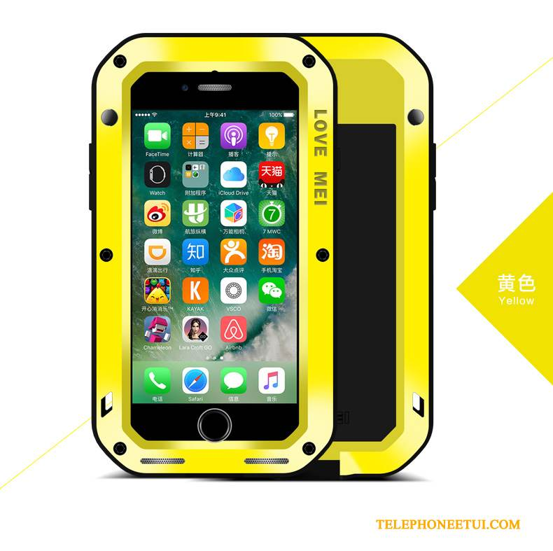 coque jaune iphone 8